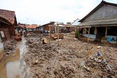 Inundação repentina do desastre de Indonésia - Garut 068 Imagens de Stock