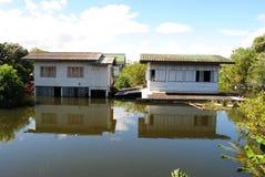 Inundação tailandesa Fotografia de Stock Royalty Free