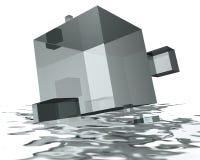 Inundações Foto de Stock