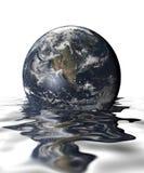 Inundações Fotografia de Stock Royalty Free