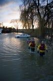2014 inundações BRITÂNICAS Fotografia de Stock Royalty Free