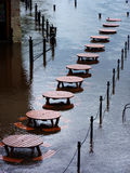 Inundações de York Imagem de Stock