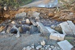 Inundações repentinas Imagens de Stock