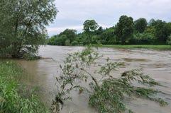Inundación foto de archivo libre de regalías