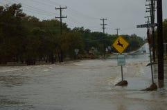 Inundación Imagen de archivo libre de regalías
