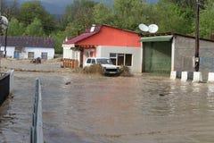 Inundación Foto de archivo
