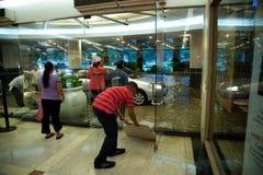 Inundación causada por Typhoon Ondoy Fotos de archivo libres de regalías