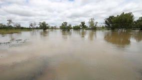 Inundación, corriente metrajes