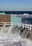 Inundación costera Fotos de archivo libres de regalías