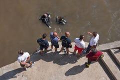Inundación de Atrani Imagen de archivo