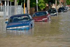 Inundación 2013 de Calgary Imagenes de archivo