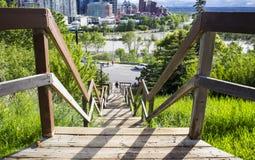 Inundación de Calgary de 2013 Imagen de archivo libre de regalías