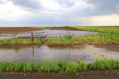 Inundación de destello Fotografía de archivo