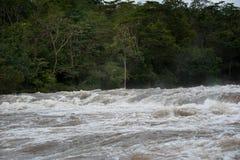 Inundación de destello del inundación-flash en Tailandia Fotografía de archivo