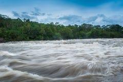Inundación de destello del inundación-flash en Tailandia Imágenes de archivo libres de regalías