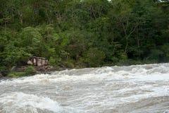 Inundación de destello del inundación-flash en Tailandia Fotografía de archivo libre de regalías