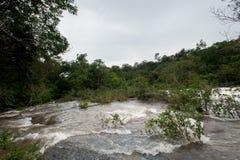 Inundación de destello del inundación-flash en Tailandia Foto de archivo