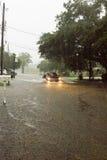 Inundación de la calle Fotos de archivo