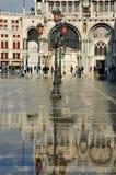 Inundación de Venecia Imagen de archivo