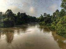 Inundación del drenaje Imagenes de archivo