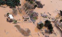 Inundación del estado de Washington Foto de archivo