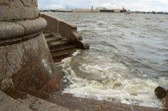 Inundación drástica en la ciudad Imagen de archivo