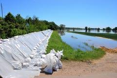 Inundación en el Elba imagen de archivo