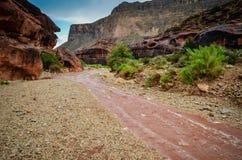 Inundación repentina - Grand Canyon del oeste Imagenes de archivo