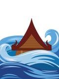 Inundación tailandesa libre illustration