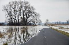 Inundación Fotografía de archivo libre de regalías