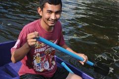 Inundaciones de Bangkok Fotos de archivo