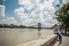 Inundaciones de Budapest Foto de archivo