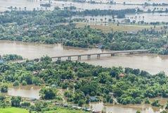 Inundaciones de Tailandia, desastre natural Fotos de archivo libres de regalías