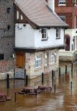 Inundaciones de York Imágenes de archivo libres de regalías