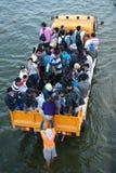 Inundaciones mega en Bangkok en Tailandia. Fotografía de archivo
