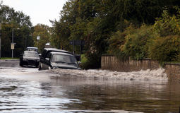 Inundado Imagen de archivo libre de regalías