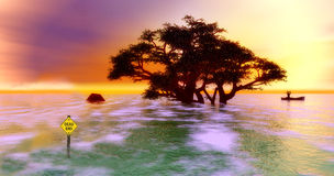 Fuerza de la naturaleza Foto de archivo