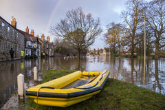 Inundar - Yorkshire - Inglaterra Fotos de archivo libres de regalías