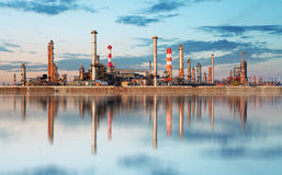 Inustry - Oil Refinery, Petrochemical plant.  Stock Photos