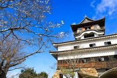 Inuyama城堡在日本 免版税库存照片