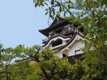 Inuyama城堡在爱知,日本 免版税库存照片