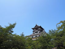 Inuyama Castle in Aichi, Japan Royalty Free Stock Photos