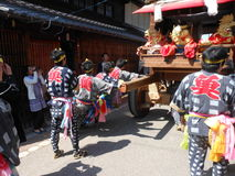 Inuyama-Festival Stockbild