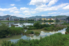 Inuyama-shi. Inuyama is a city located in Aichi Prefecture, near Nagoya royalty free stock photography