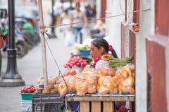 Invånare av Valladolid, Mexico Royaltyfria Bilder