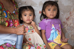 Invånare av Valladolid, Mexico Royaltyfri Foto