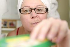 Invadindo o refrigerador Foto de Stock Royalty Free