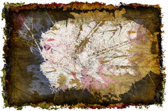 Invaginate 3-D Grunge Wallpaper stock photography