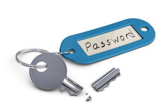 Invalid password or hacked password concept Stock Images