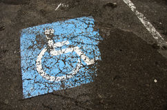 Invalid sign on asphalt Royalty Free Stock Photography